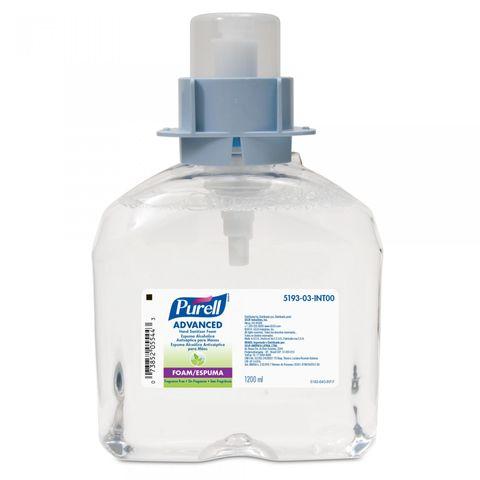 Sanitiser Hand Foam 70% Purell FMX Refill 1.2LTR DG3