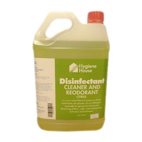 DISINFECTANT CLEANER CITRUS 5LTR