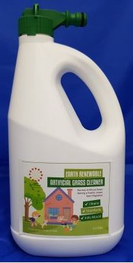EARTH RENEWABLE ARTIFICIAL GRASS CLEANER