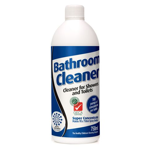 Earth Renewable Bathroom Cleaner Concentrate 750ml