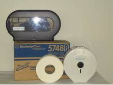 Toilet Tissue Roll 1 Ply Jumbo Scott