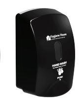 Dispenser Soap Foam Hygiene House Manual - Black