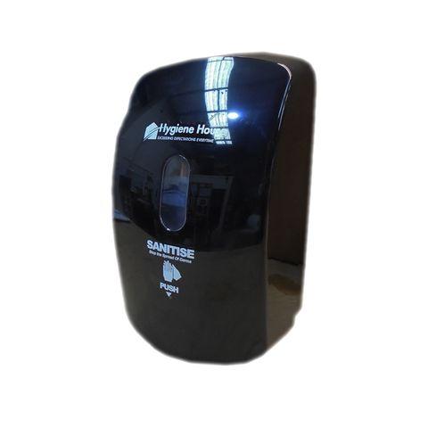 Dispenser Refillable Sanistier Gel H/House Manual - Black