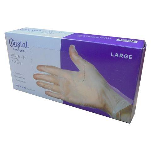 Gloves Vinyl Powder Free Large Box