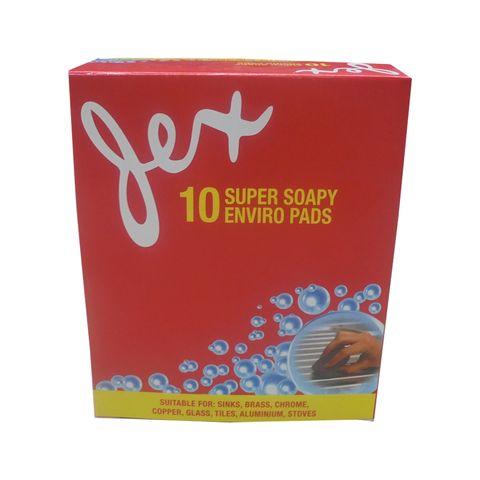 LEMON STEEL SOAP PADS BOX