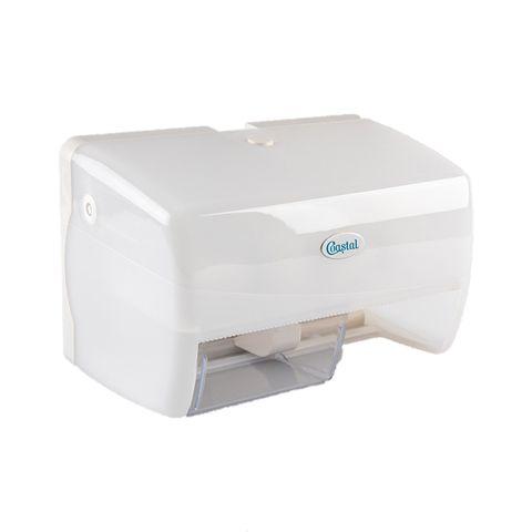 Dispenser Toilet Tissue Roll Side X Side