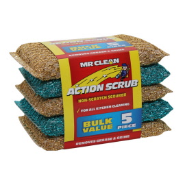 ACTION SCRUB 5PK (24 in a carton)
