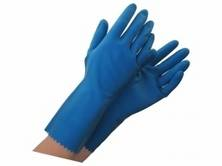 Gloves Silverlined Medium Blue Pair