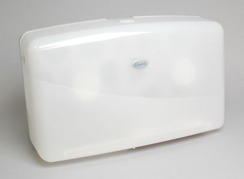 Dispenser Toilet Tissue Roll Jumbo Double White