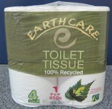 T/TISSUE ROLLS 1 PLY EARTHCARE