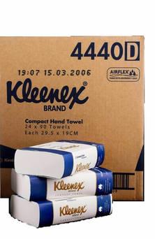 H/TOWEL KLEENEX COMPACT WHITE