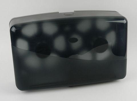 Dispenser Toilet Tissue Roll Jumbo Double Black