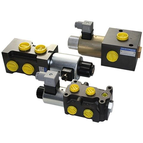 Poclain 3 & 6 Port Selector Valves