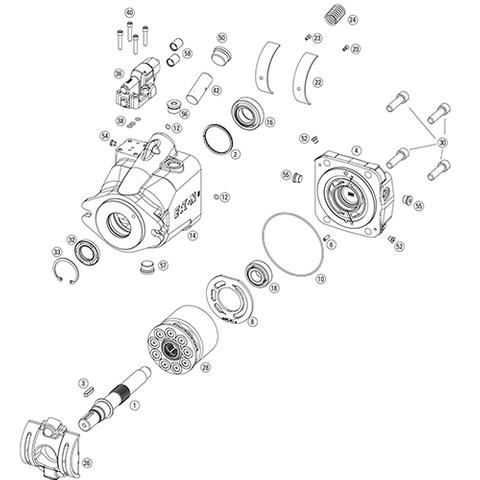 Eaton 420 Pump Parts