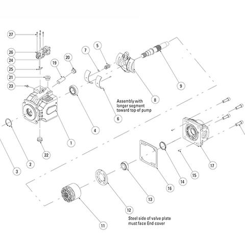 Eaton 620 Pump Parts