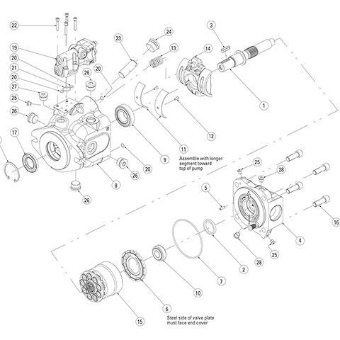 Eaton 220 Pump Parts
