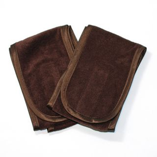 HEADBAND - Chocolate/Velcro - 2 Pack