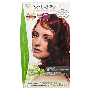 MEDIUM BLONDE DEEP RED 7.55 BOX COLOUR