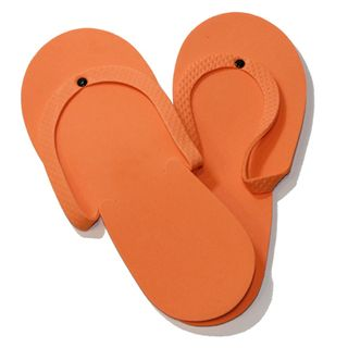 ORANGE PEDICURE SLIPPERS 1 Pair Ylas