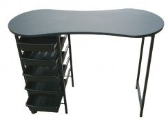 KIDNEY BUDGET MANICURE TABLE Black