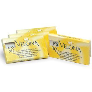 NEEDLES Gold #4 F-SHANK 30pack Velona