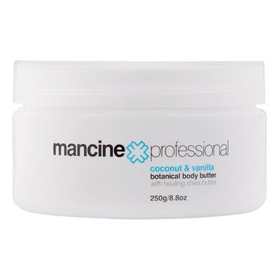 COCONUT BODY BUTTER 250gm Mancine