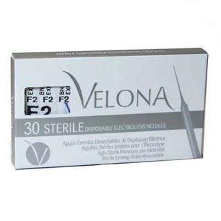 NEEDLES SS#2 F-SHANK 30pack Velona