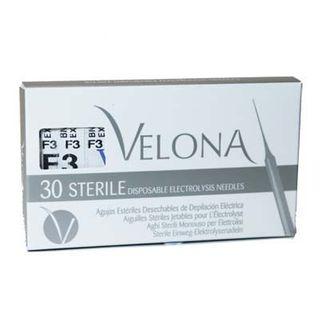 NEEDLES SS#3 F-SHANK 30pack Velona