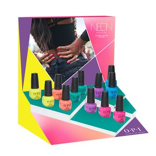 NL - PUMP by OPI NEONS DISPLAY 12pc