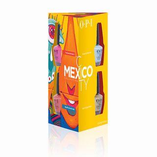 MEXICO NAIL LACQUER MINIS 4pk