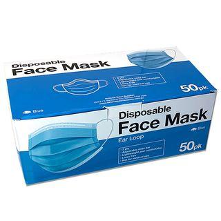 DISPOSABLE FACE MASK 50pk