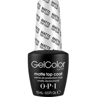 GELCOLOR MATTE TOP COAT 15ml