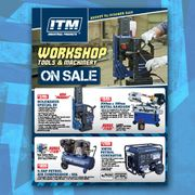 Workshop Tools & Machinery - August to October 2020 Sale Now On