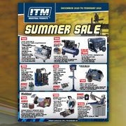 Summer Sale Promotional Flyer - December 2020 to February 2021 Sale Now On