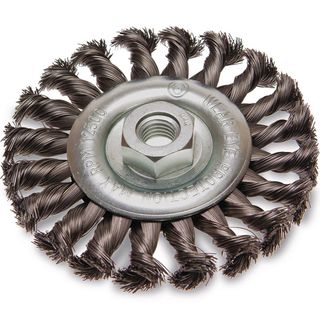 TWIST KNOT WHEEL WIRE BRUSHES