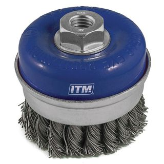 TWIST KNOT BANDED CUP WIRE BRUSHES