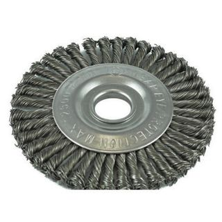 TWIST KNOT PIPELINE WHEEL WIRE BRUSHES