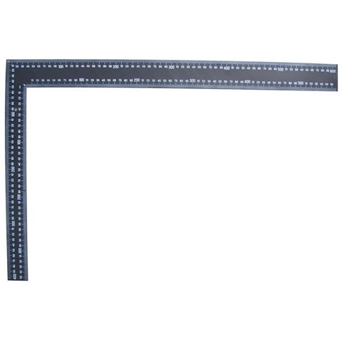 "24""/600MM METRIC/IMPERIAL BLACK CARPENTERS SQUARE"