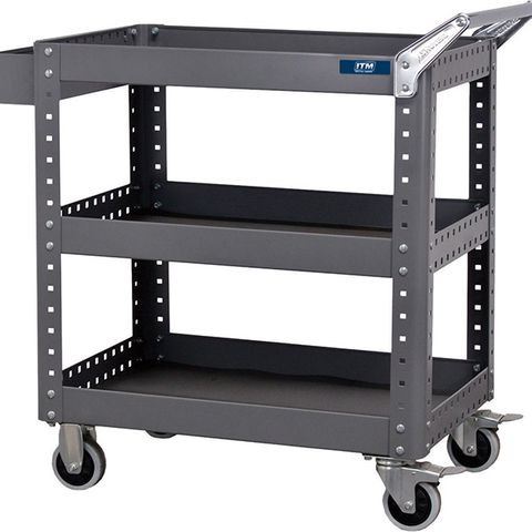 ITM TOOL CART, 3 SHELF, 873 W X 500 D X 880 H