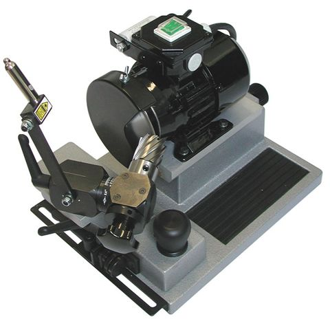 HOLEMAKER CUTTER SHARPENING MACHINE, 240v, 50MM DIA CAPACITY