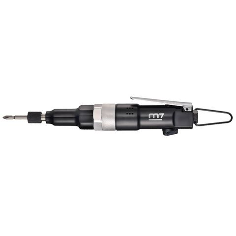 "M7 HEAVY DUTY STRAIGHT SCREWDRIVER, POSITIVE ADJ CLUTCH. 1.5 -5.92 FT/LB,  M4 BOLT CAPACITY, 1/4"" HEX"