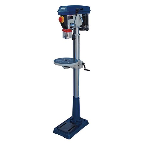 ITM PEDESTAL FLOOR DRILL PRESS, 2MT, 16MM CAP, 16 SPEED, 325MM SWING, 550W 240V