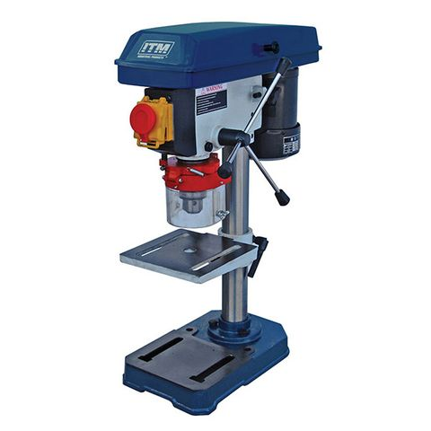 ITM PEDESTAL BENCH DRILL PRESS, 13MM CAP, 5 SPEED, 210MM SWING, 250W 240V