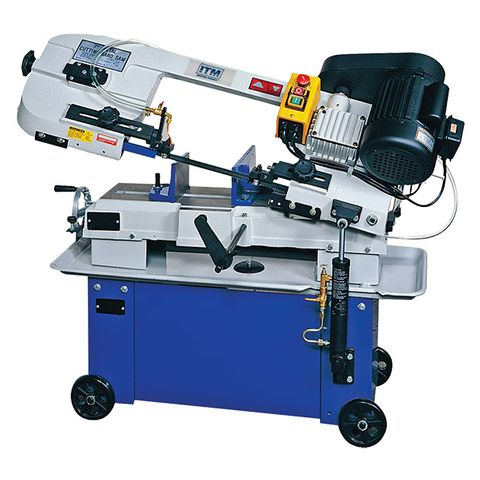 ITM BANDSAW, 180MM CAP, 4 SPEED, 240V 1PH,  HORIZONTAL & VERTICAL CUT