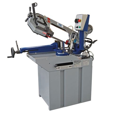 ITM BANDSAW, 227MM CAP, SWIVEL HEAD, 1 SPEED 240V 1PH,  HYD DOWN FEED