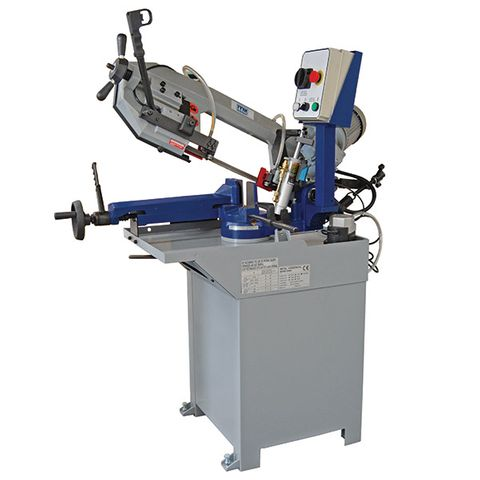 ITM BANDSAW, 170MM CAP, SWIVEL HEAD, 2 SPEED 415V 3PH,  HYD DOWN FEED