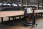 ITM ABM-50 AUTO FEED DOUBLE SIDED BEVELER, 415V 4KW MOTOR, 15-60° BEVEL ANGLE, MAX BEVEL WIDTH 50MM, 8 - 80MM PLATE THICKNESS