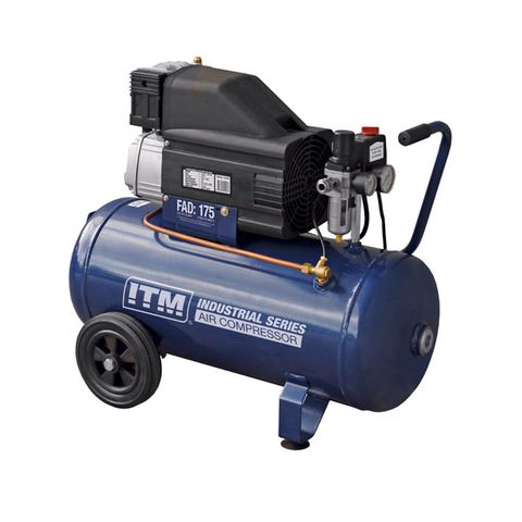 ITM AIR COMPRESSOR, DIRECT DRIVE, 2.5HP 50LTR CONSTRUCTION FAD 175L/MIN