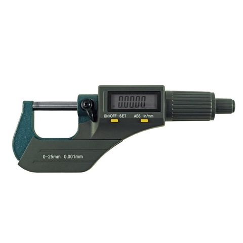 ITM DIGITAL OUTSIDE MICROMETER, 0-25MM