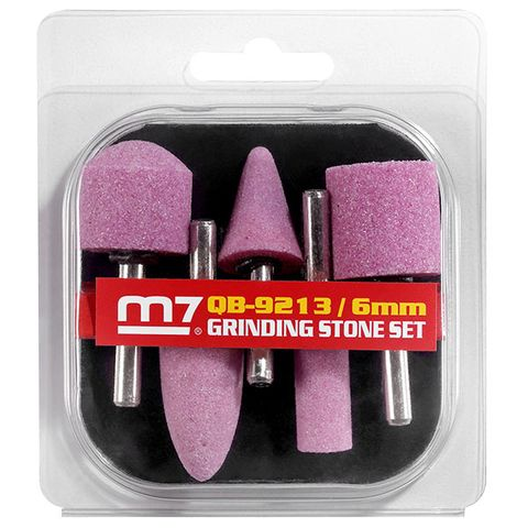 M7 GRINDER STONE SET (6MM OR 1/4' SHANK)
